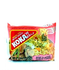 Koka Beef Instant Noodles | Buy Online at The Asian Cookshop.